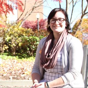 Alyssa Paquin with fall background