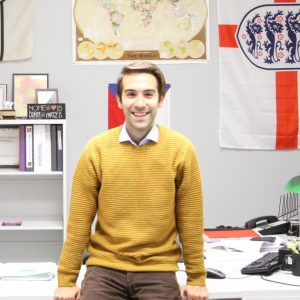 Roberto Valentin with office background