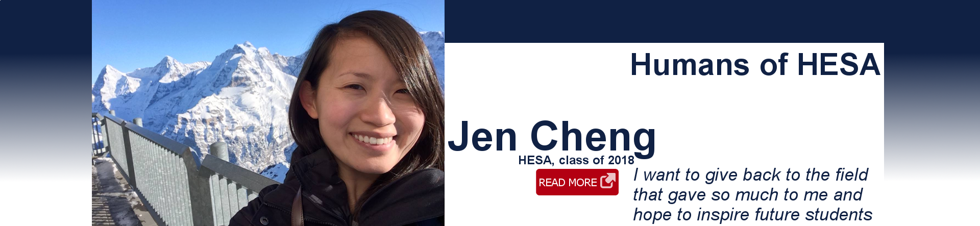 Jen Cheng head schot and quote