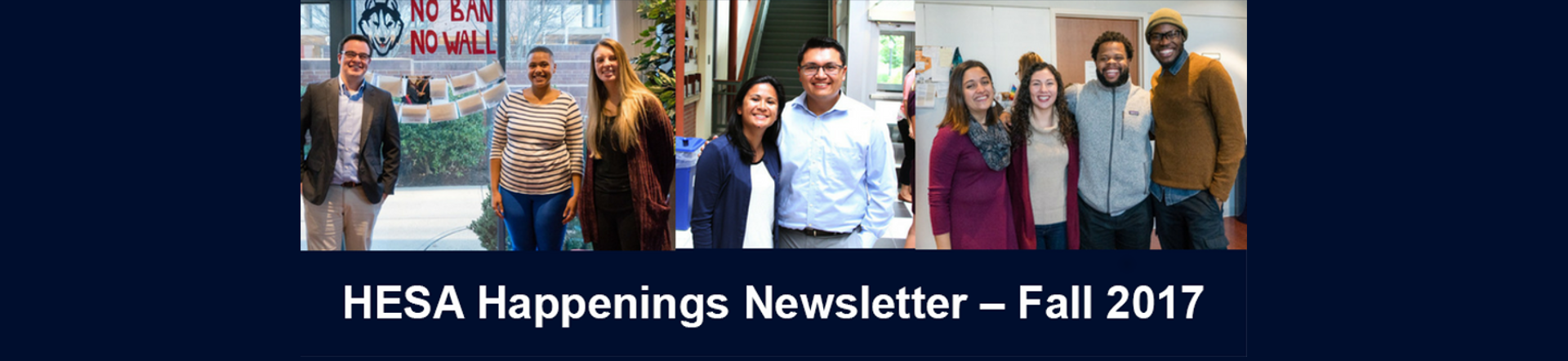 HESA Happenings Newsletter Header